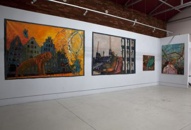 Individual exhibition under title: Remebered places, Konduktorownia gallery